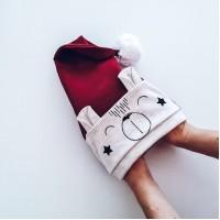 Božična kapa - medo