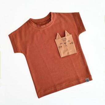 Kratka majica - muc (različne barve)