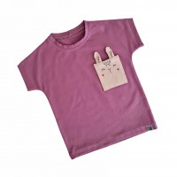 Kratka majica - zajček (različne barve)