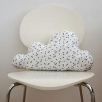 Dekorativna blazina - oblaček (bel)