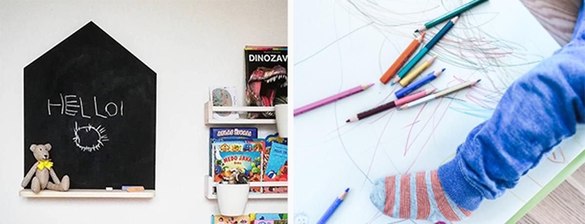Se tudi ti srečuješ s porisanimi stenami zaradi igre otrok?