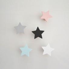 Lesen obešalnik - zvezda