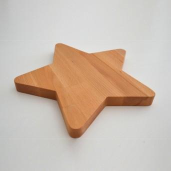 Rezalna/servirna deščica - zvezda